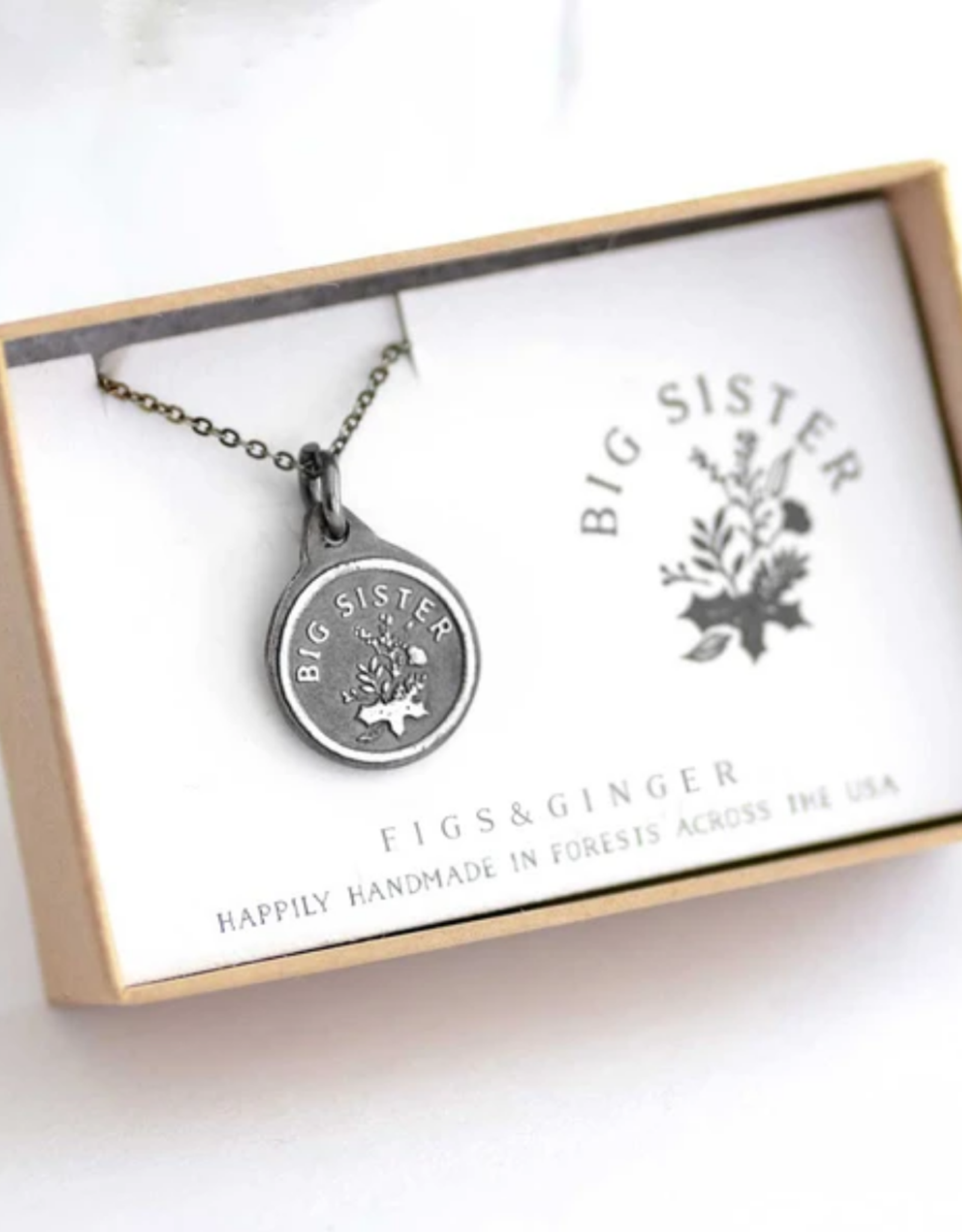 Figs and Ginger Big Sister Necklace