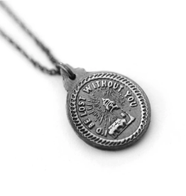 Figs and Ginger I'd Be Lost Without You Necklace