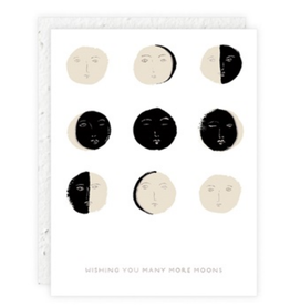 Wishing You Many More Moons Greeting Card