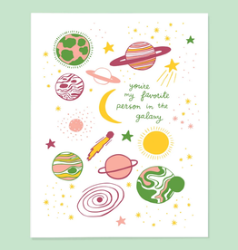 The Good Twin Co. You're My Favorite Person In the Galaxy Greeting Card