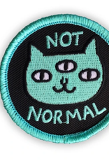 Not Normal Cat Patch