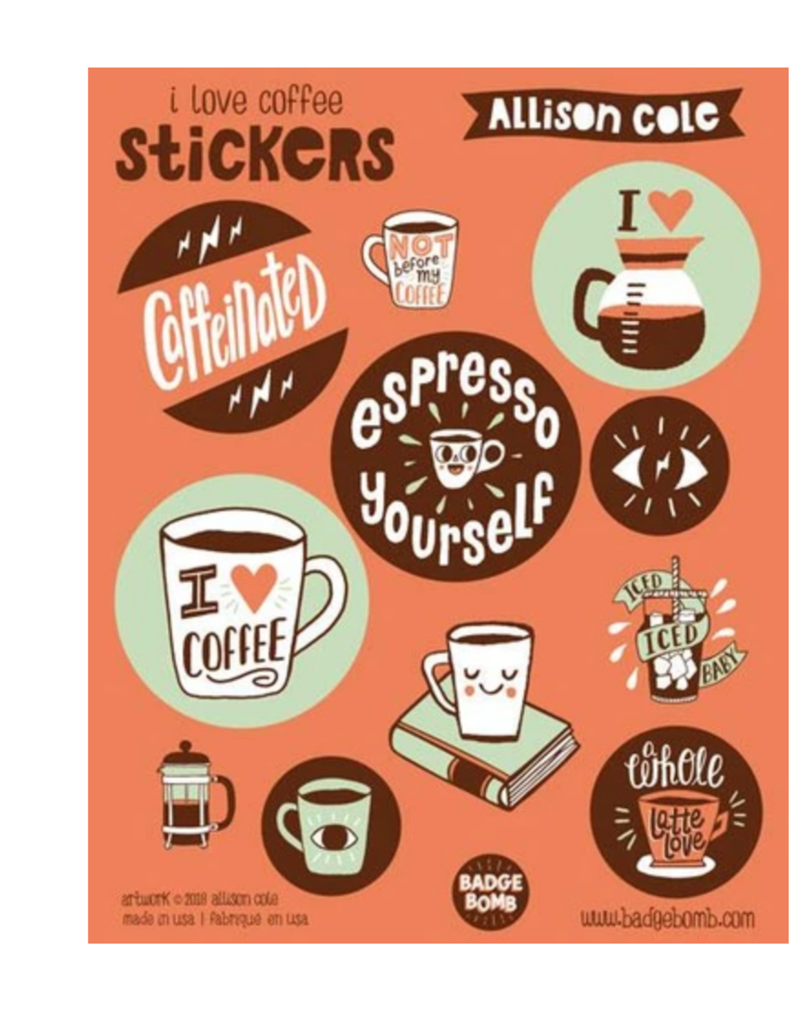 Coffee Sticker Sheet