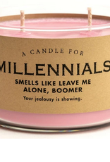 Whiskey River Soap A Candle for Millennials (Bamboo Scented)