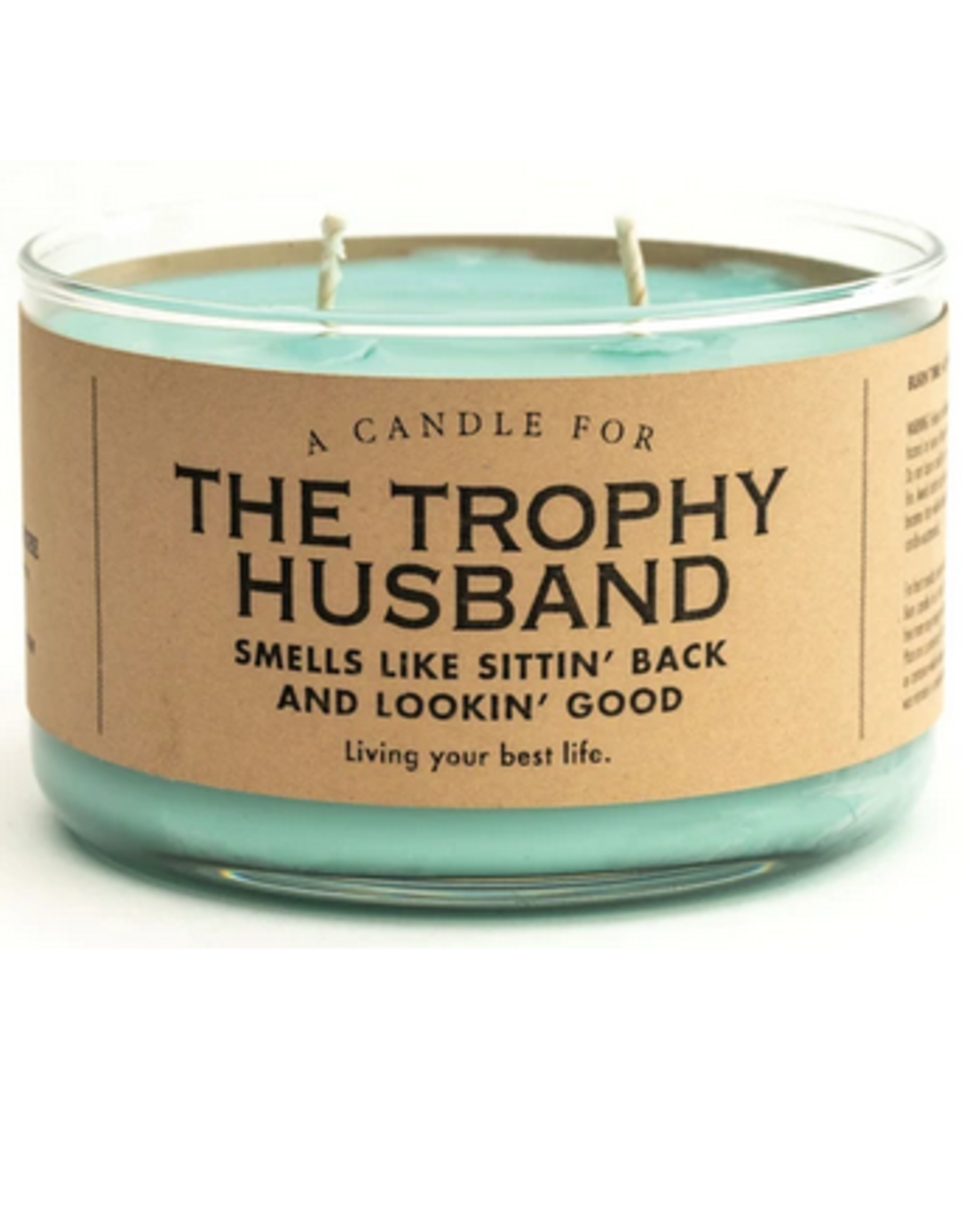 A Candle for Trophy Husbands (New Car Scented)