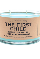 A Candle for The First Child (Wintergreen Scented)