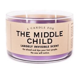 A Candle for The Middle Child (Grape Scented)