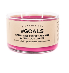 A Candle for #Goals (Unicorn Farts Scented)