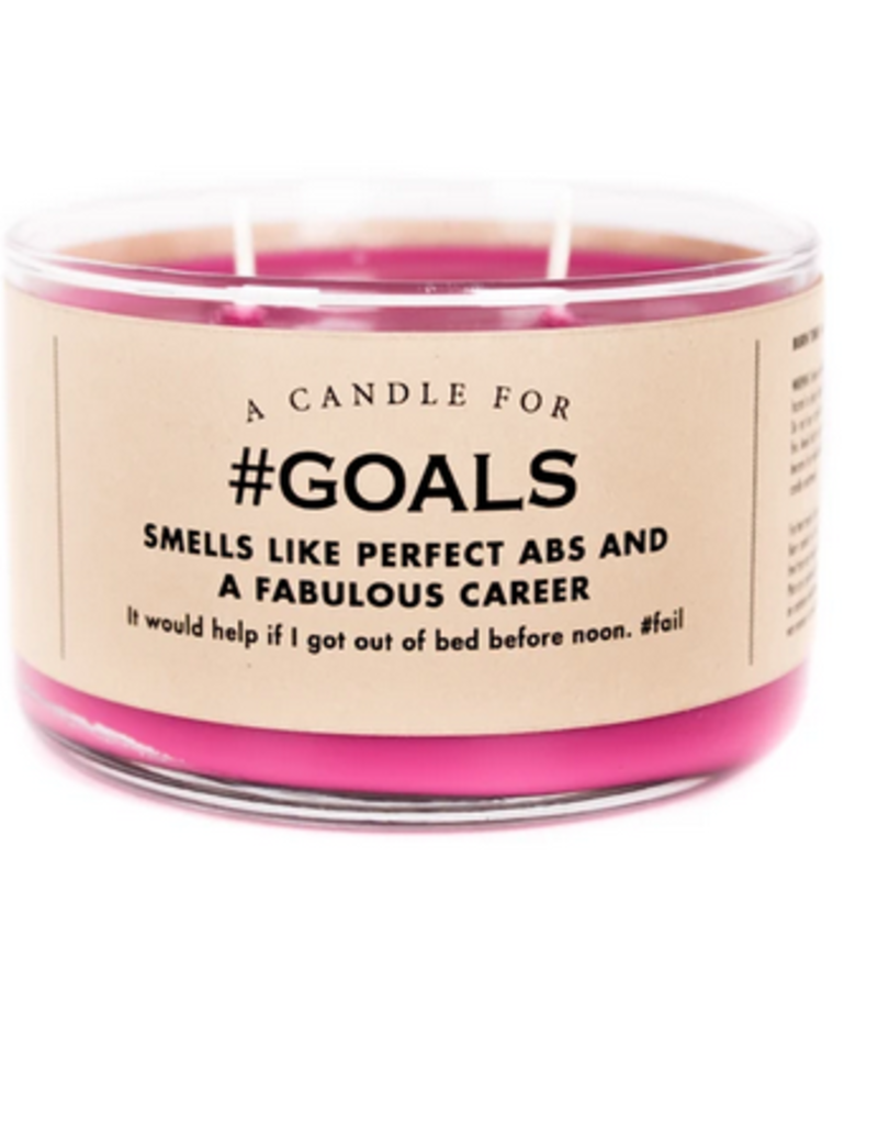 Whiskey River Soap A Candle for #Goals (Unicorn Farts Scented)