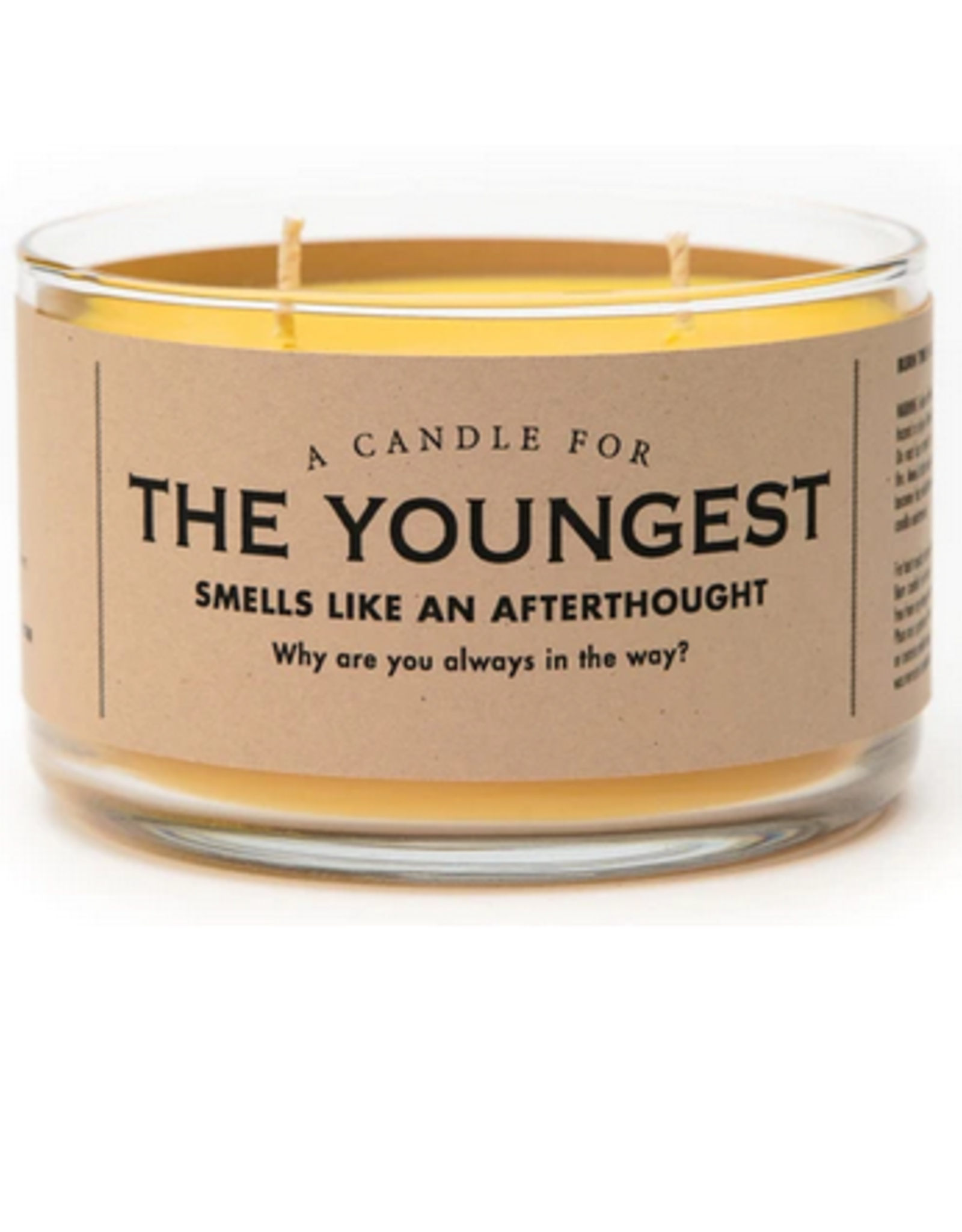 A Candle for The Youngest (Baby Lotion Scented)
