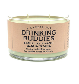 A Candle for Drinking Buddies (Dos Margaritas Scented)