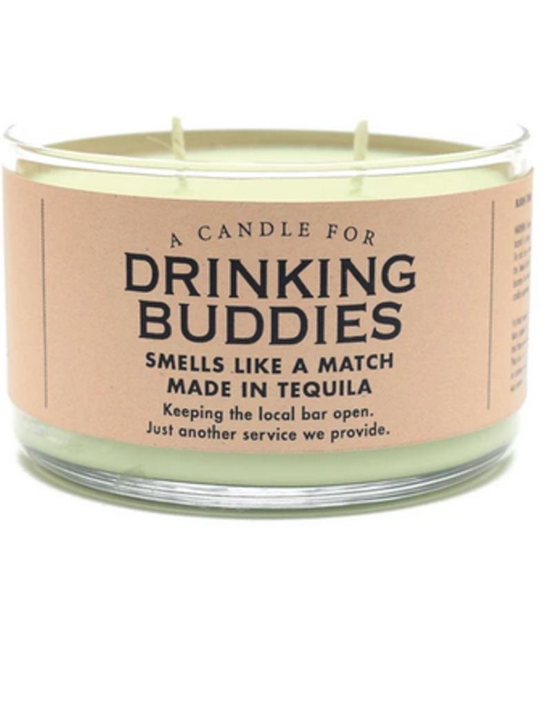 Whiskey River Soap A Candle for Drinking Buddies (Dos Margaritas Scented)