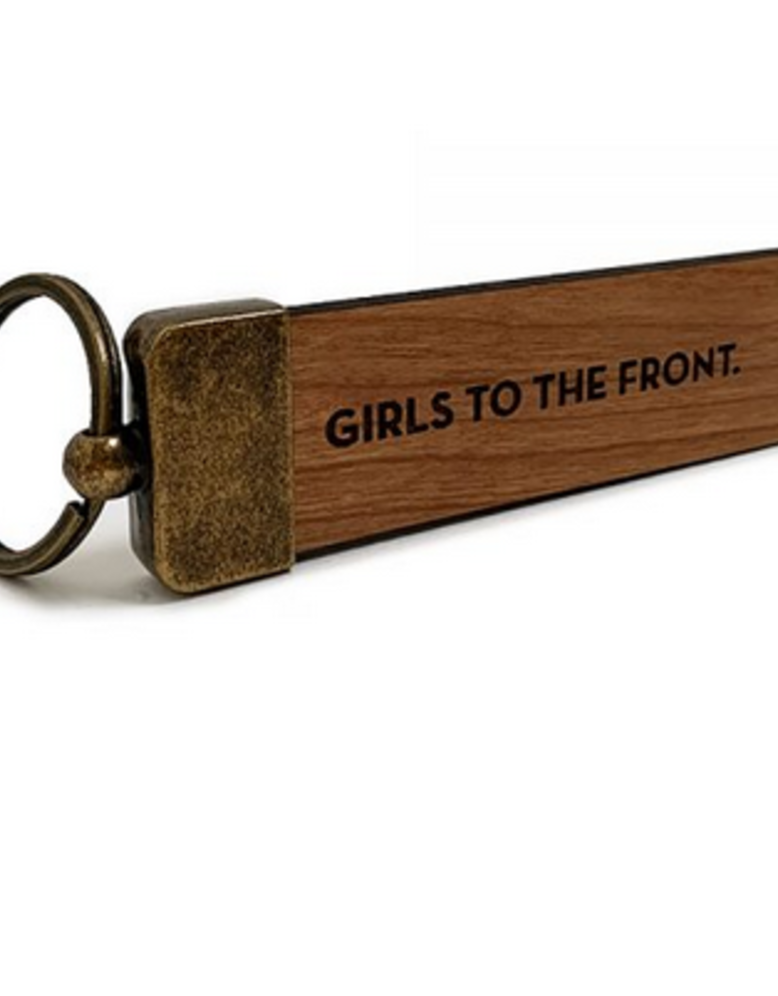 Sapling Press Girls to the Front Keychain