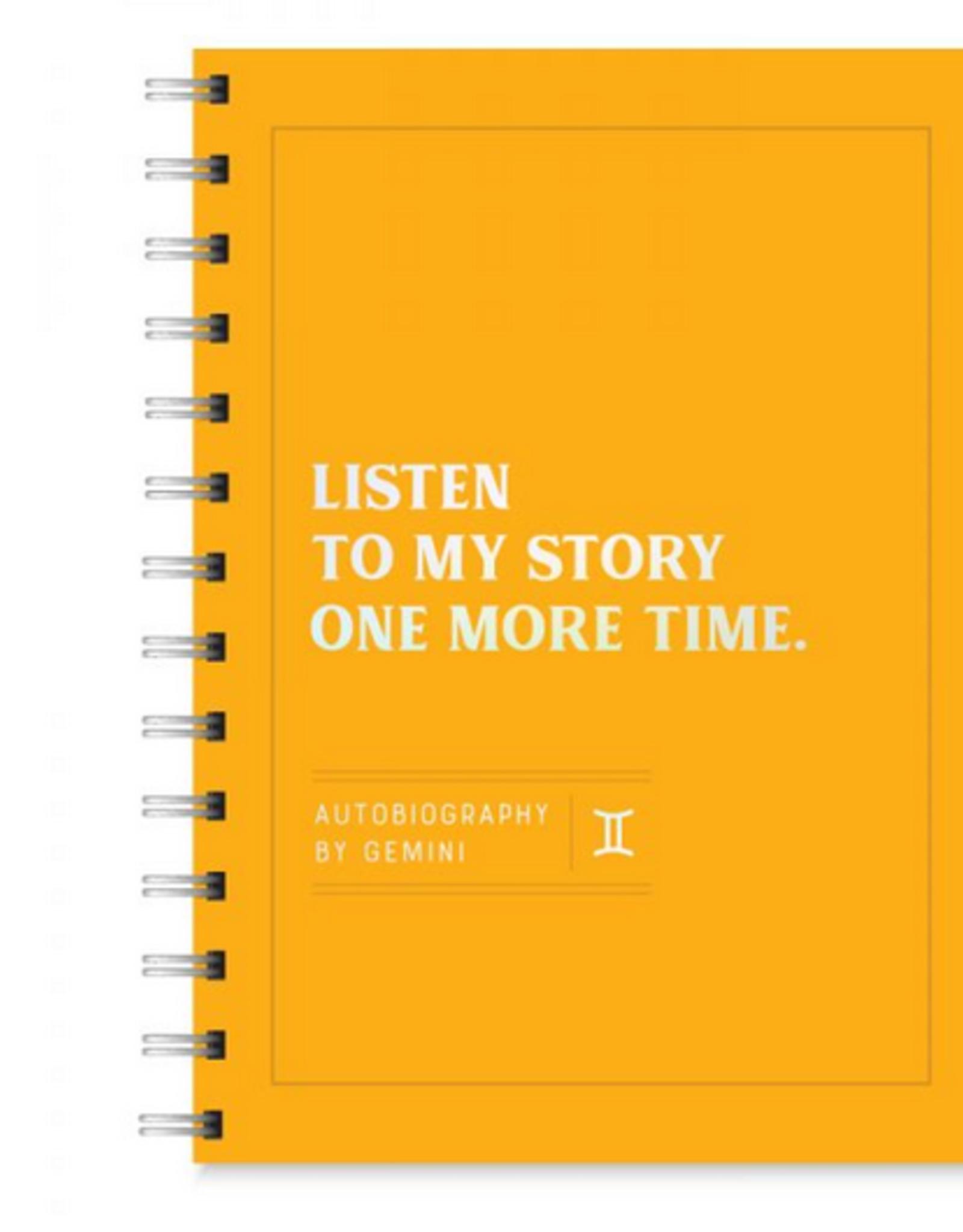 Gemini Autobiography Journal