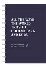 Sagittarius Autobiography Journal