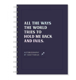 Sapling Press Sagittarius Autobiography Journal