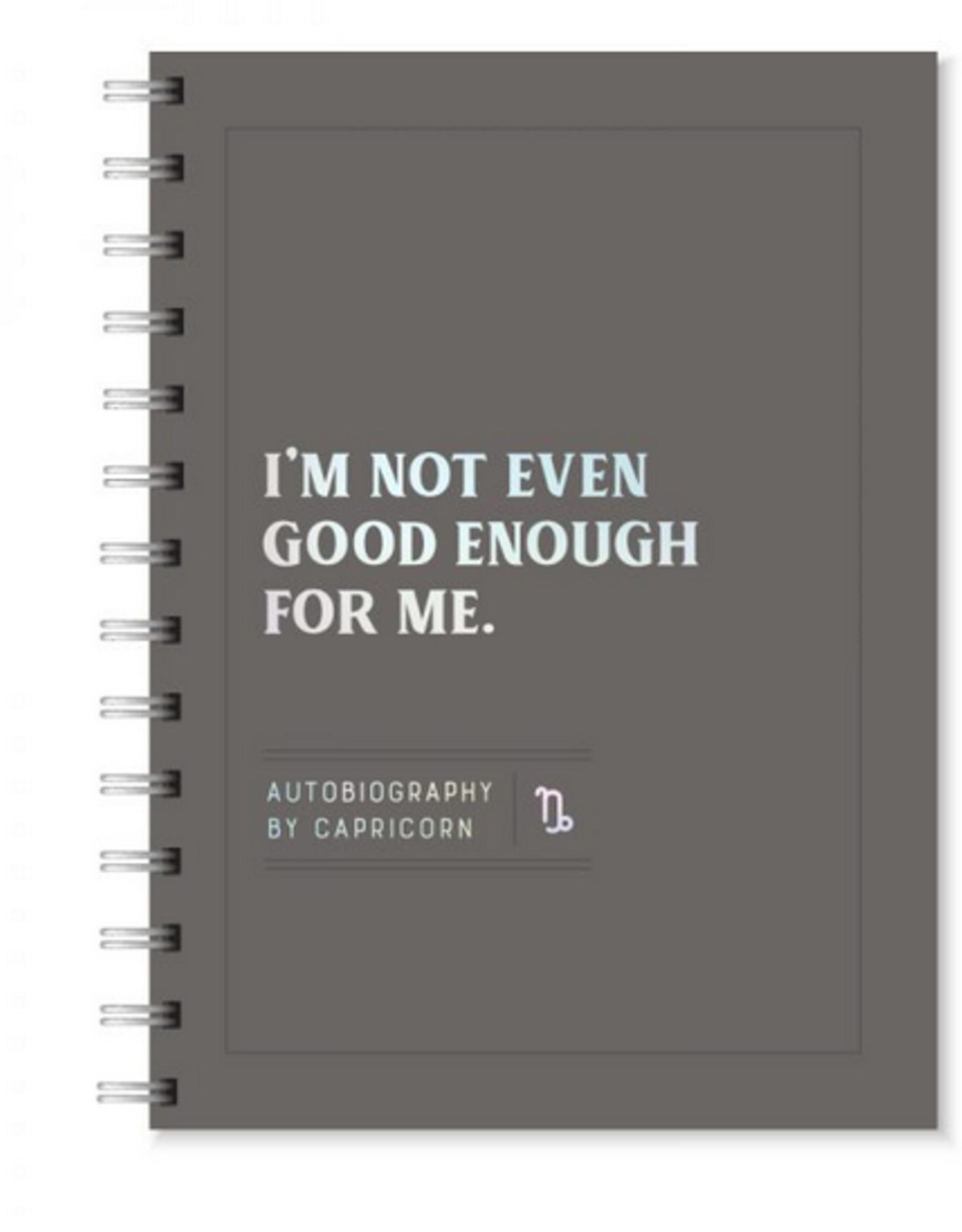 Capricorn Autobiography Journal