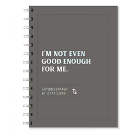 Capricorn Autobiography Journal