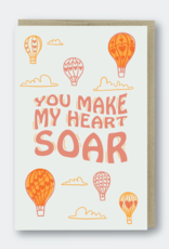 Pike Street Press You Make My Heart Soar Greeting Card