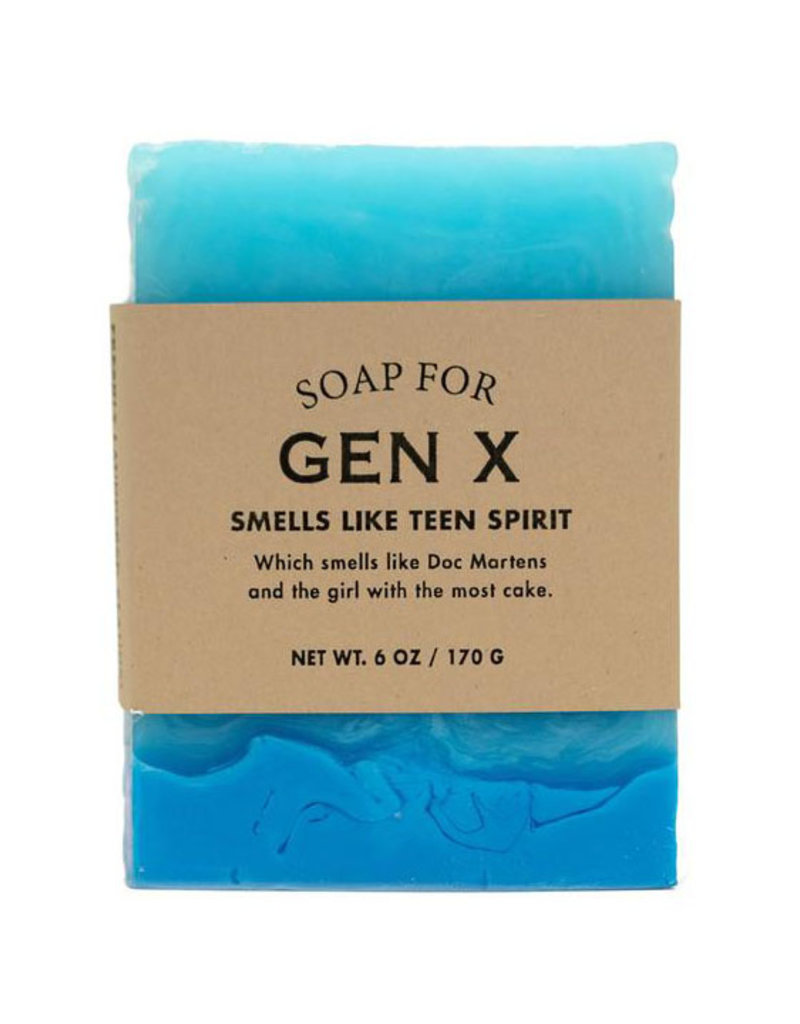 Whiskey River Soap A Soap for Gen X