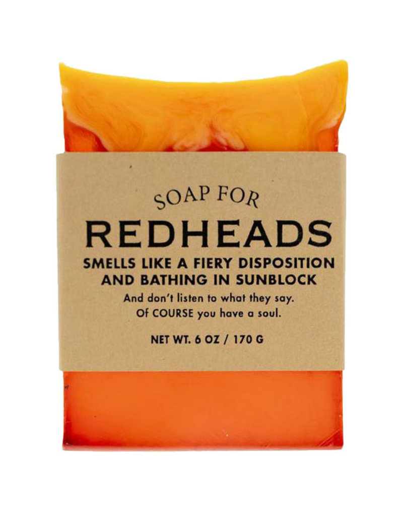 Whiskey River Soap A Soap for Redheads
