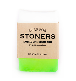 Whiskey River Soap A Soap for Stoners
