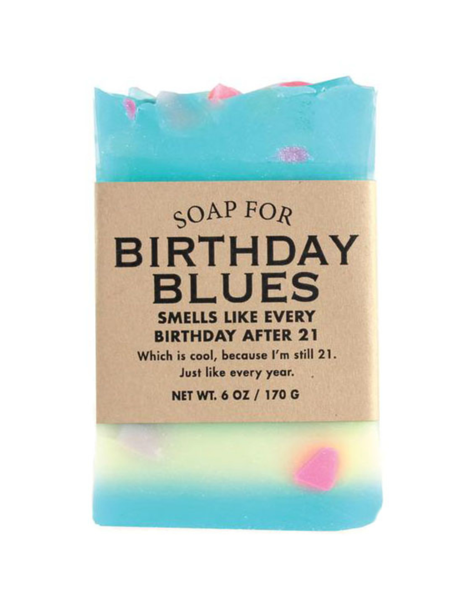 Whiskey River Soap A Soap for Birthday Blues