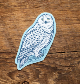 Snowy Owl Sticker