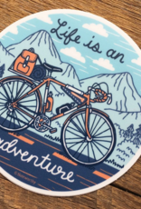 Adventure Bike Sticker