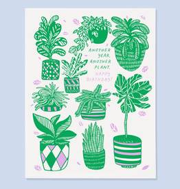 The Good Twin Co. Another Year, Another Plant Greeting Card