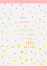 The Good Twin Co. May Your Wedding Be Perfect Greeting Card