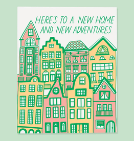 New Home and New Adventures Greeting Card