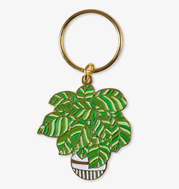 The Good Twin Co. Plant Enamel Keychain