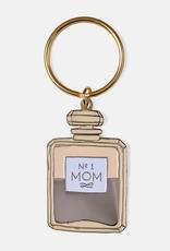 Mom Perfume Enamel Keychain