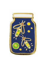 Fireflies Enamel Pin