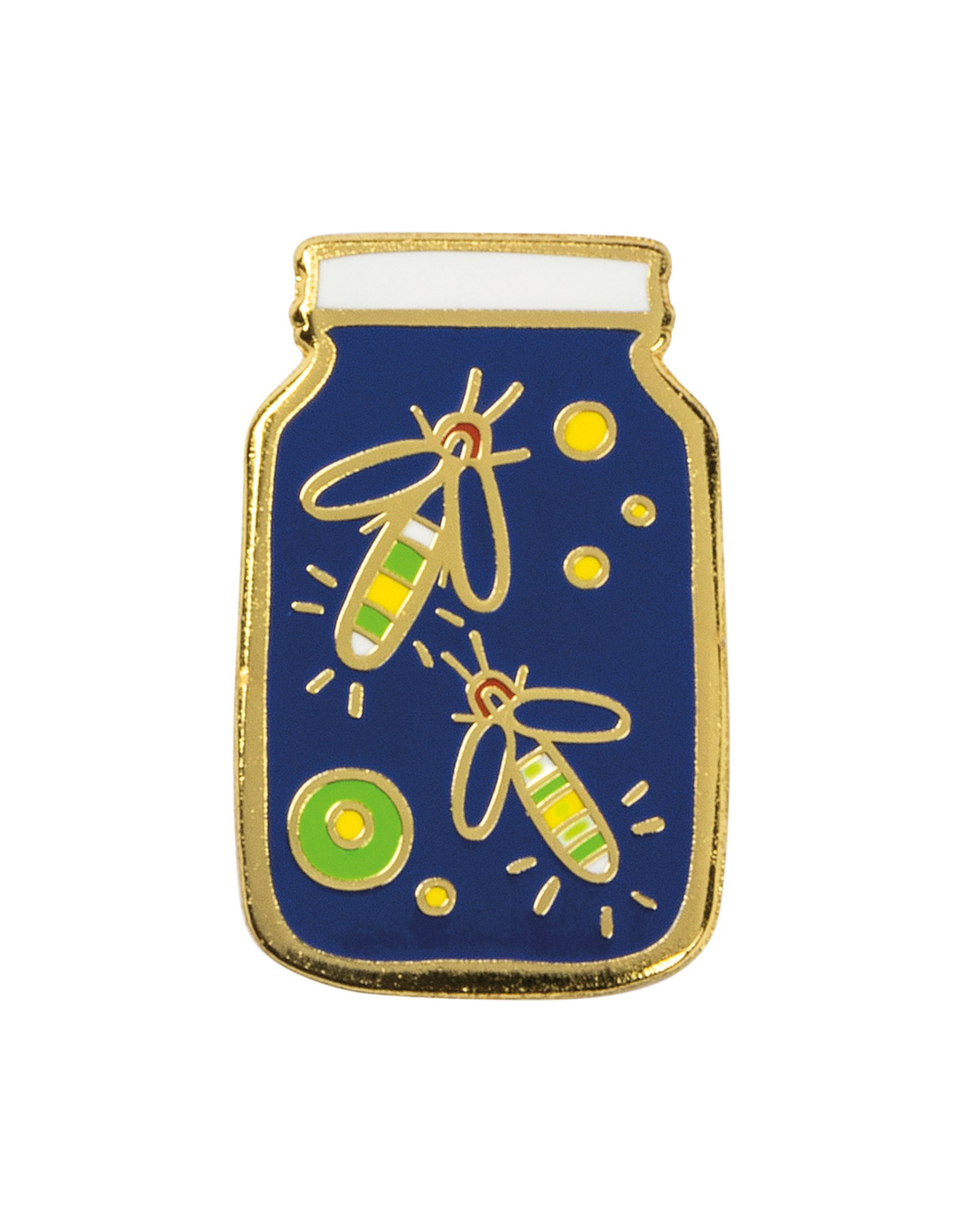 LOL Made You Smile Fireflies Enamel Pin