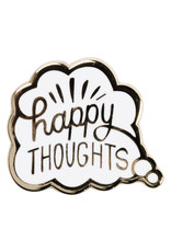Happy Thoughts Enamel Pin