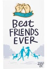 Best Friends Ever Enamel Pin