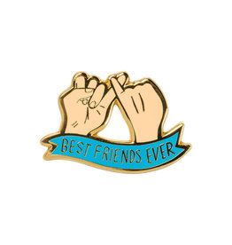 LOL Made You Smile Best Friends Ever Enamel Pin