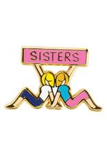 Sisters Enamel Pin