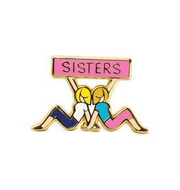 LOL Made You Smile Sisters Enamel Pin