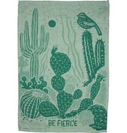 LOL Made You Smile Be Fierce (Cacti) Dish Towel