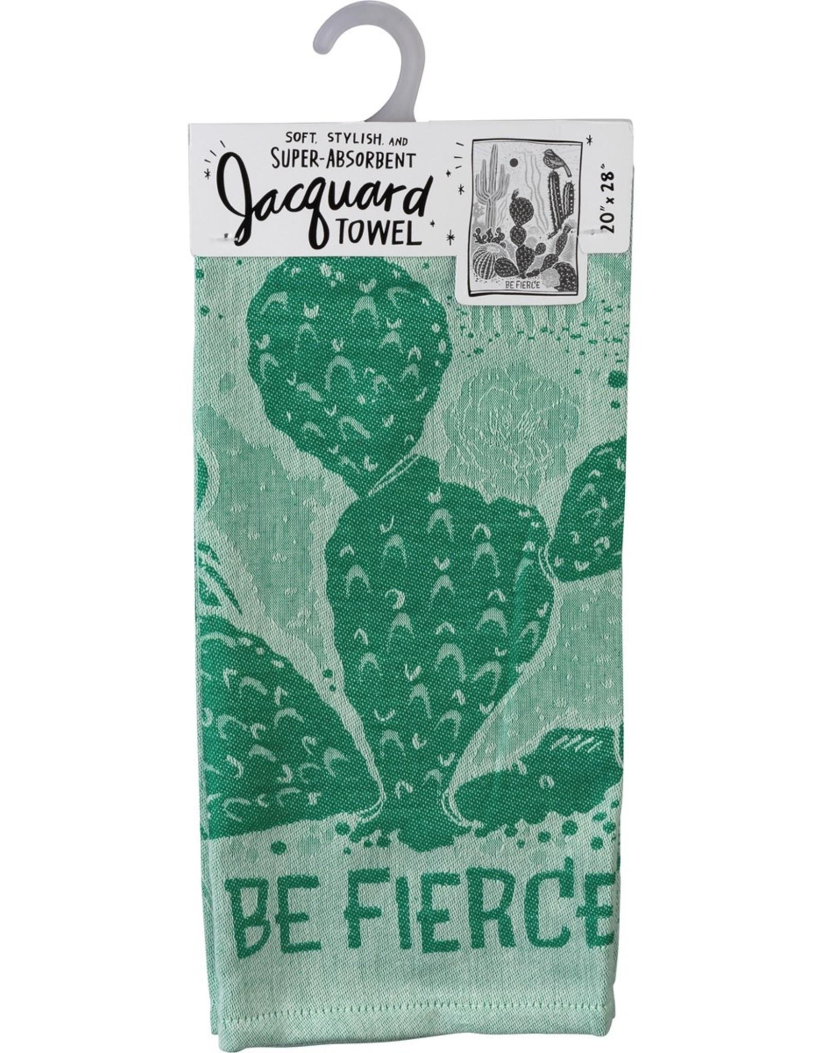 Be Fierce (Cacti) Dish Towel