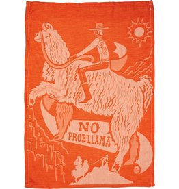 LOL Made You Smile No Prob-Llama Dish Towel
