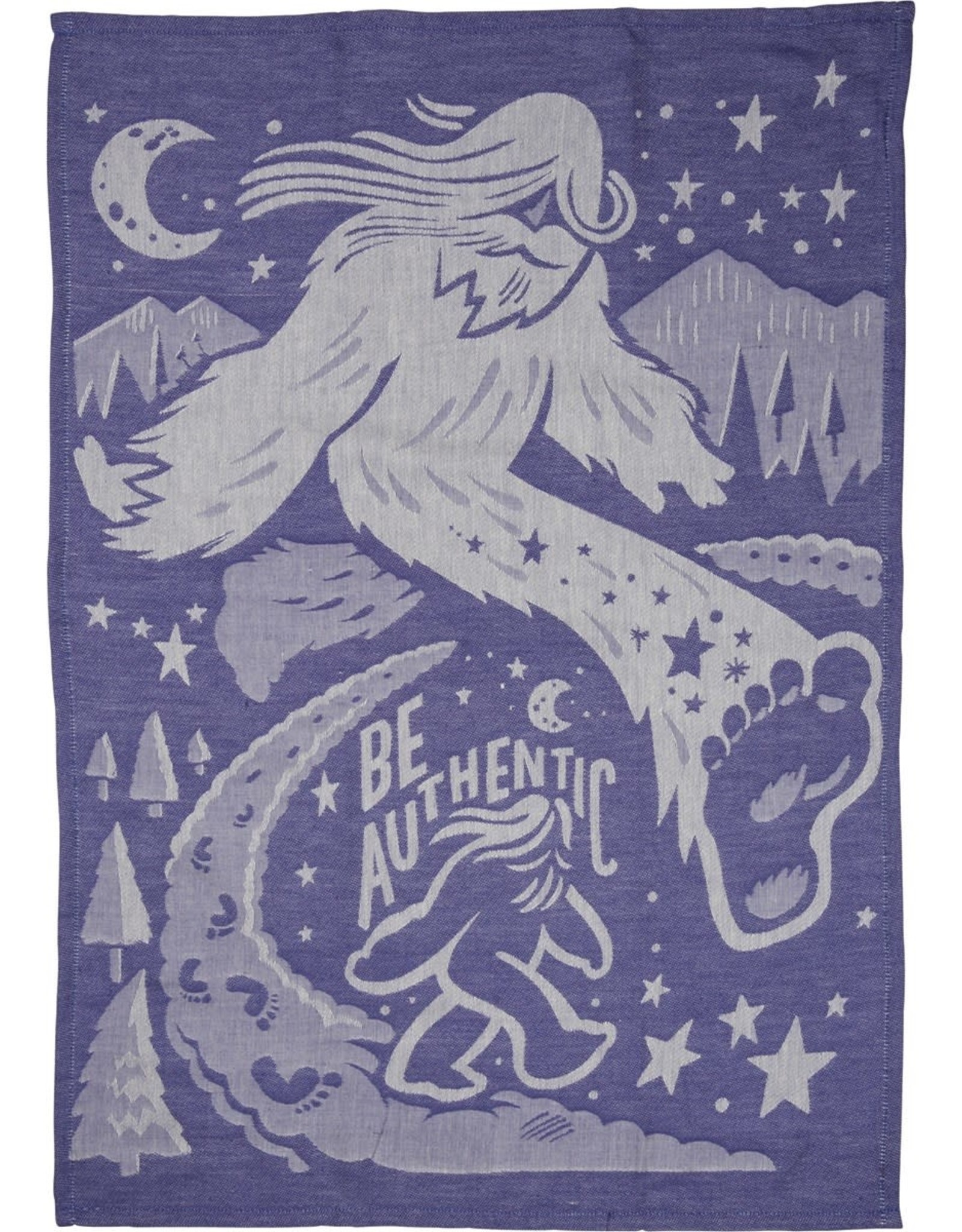 Be Authentic (Big Foot) Dish Towel