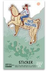 LOL Made You Smile No Prob-Llama Sticker