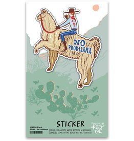 No Prob-Llama Sticker