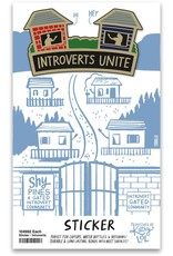 LOL Made You Smile Introverts Sticker