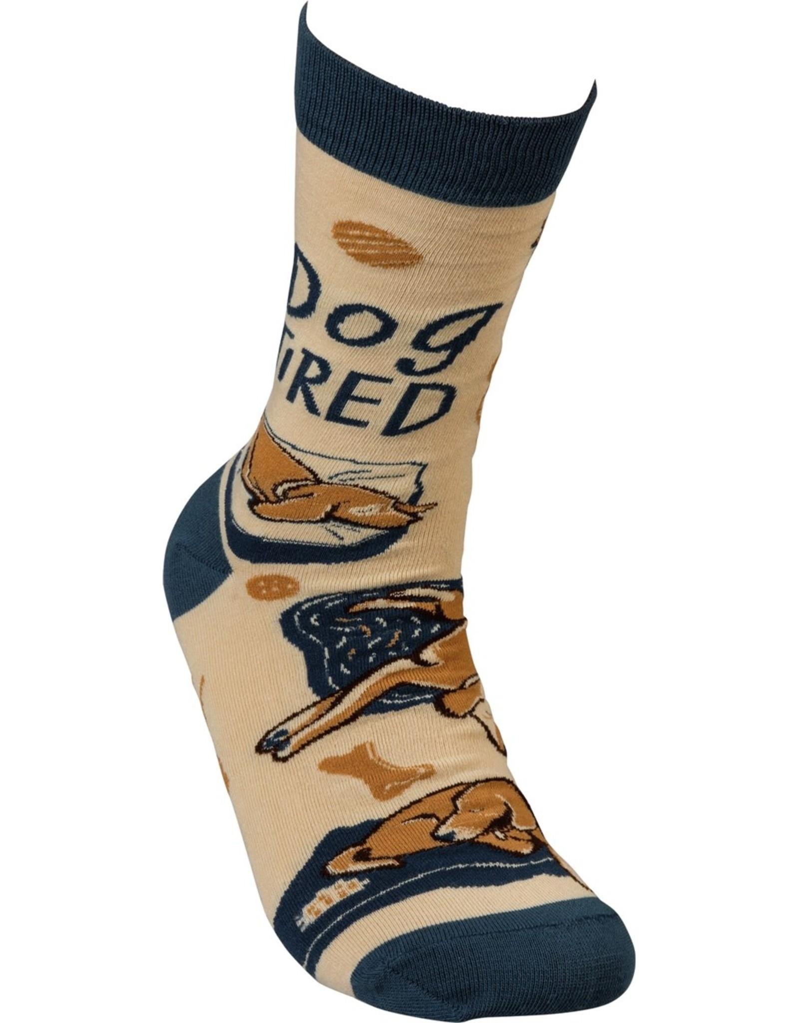 Dog Tired Unisex Socks