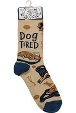 LOL Made You Smile Dog Tired Unisex Socks