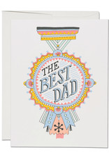 Red Cap Cards Best Dad Award Greeting Card